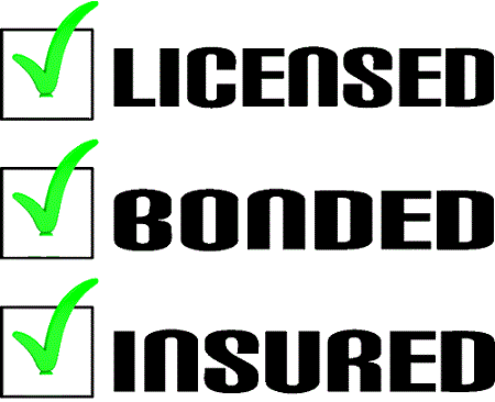 License Bonded Insured